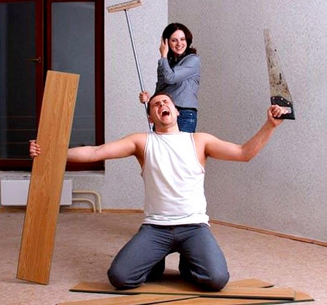 Уборка квартир своими руками