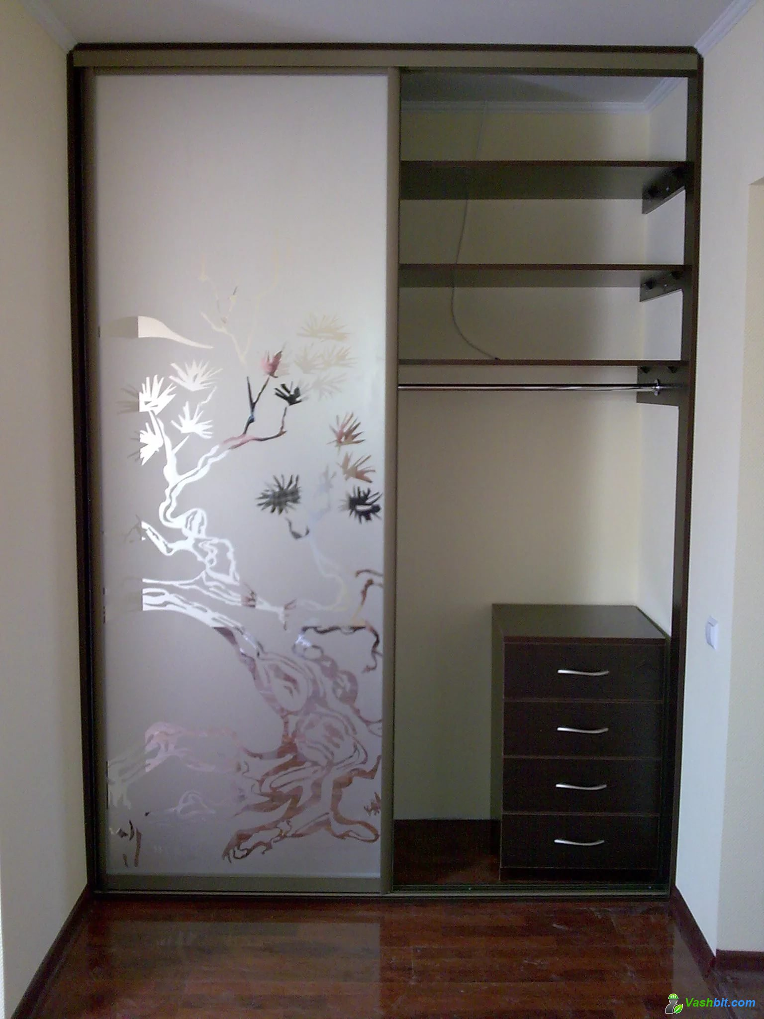 Как выбрать двери для встраиваемого шкафа купе (+20 фото).