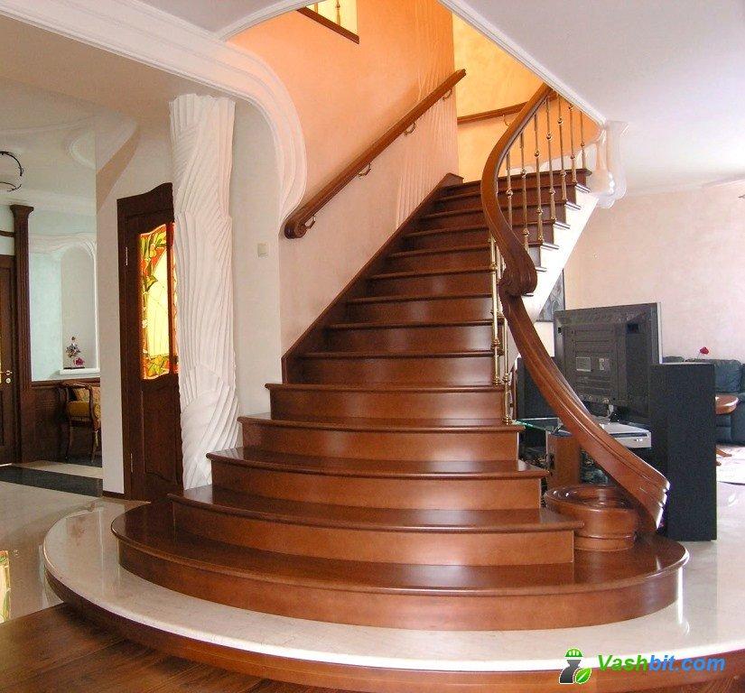 Деревянные лестницы – живое тепло в доме