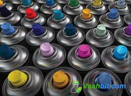 5 причин купить аэрозольную акриловую краску в баллончике
